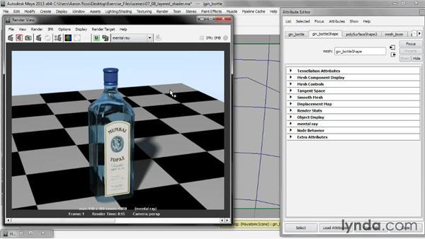 Compositing shaders: Creating Shader Networks in Maya and mental ray