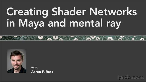 Goodbye: Creating Shader Networks in Maya and mental ray