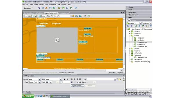 repeating tables: Dreamweaver MX 2004 Beyond the Basics