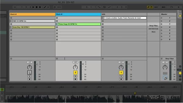 Building your decks: Ableton Live 9 for Live Performance
