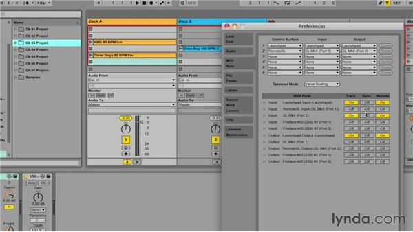 Understanding control surface scripts: Ableton Live 9 for Live Performance