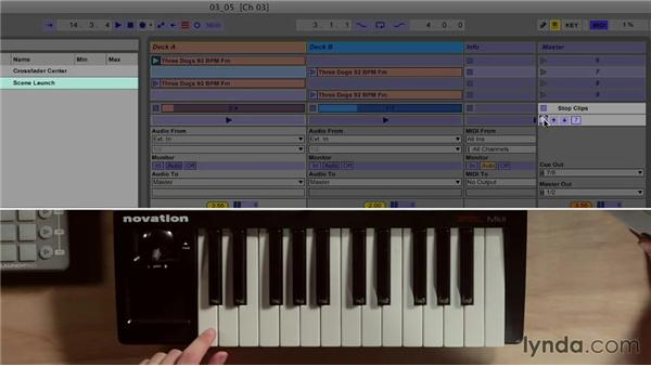 Understanding scenes, scrolling, and launch features: Ableton Live 9 for Live Performance