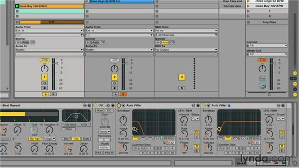 Building a custom audio effect rack: Ableton Live 9 for Live Performance