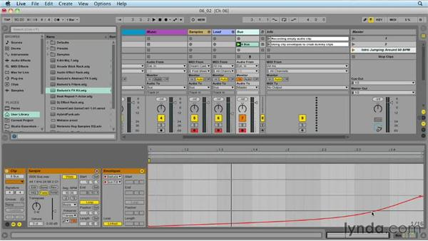 Using dummy clips: Ableton Live 9 for Live Performance