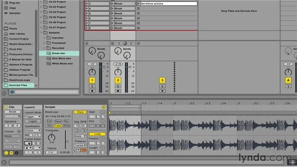 Using Follow Actions: Ableton Live 9 for Live Performance