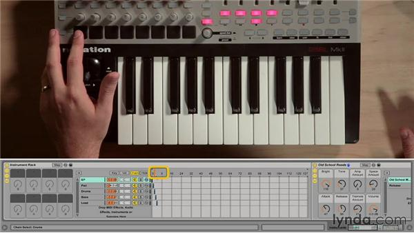 Using the Looper audio effect: Ableton Live 9 for Live Performance