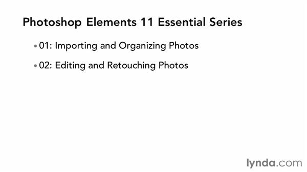 Overview of the series: Photoshop Elements 11 Essentials: 04 Creative Effects and Projects