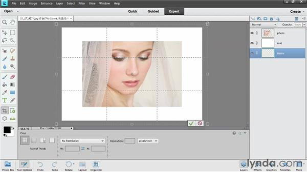 Matting and framing photos: Photoshop Elements 11 Essentials: 04 Creative Effects and Projects