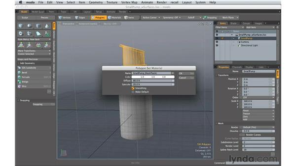Creating materials: Creating Product Shots in MODO