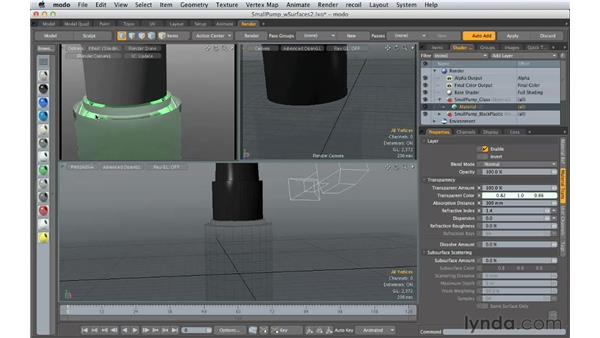 Understanding basic surfaces: Creating Product Shots in MODO