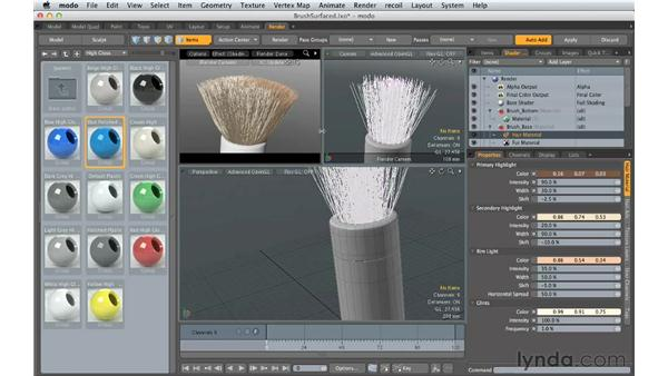 Making plastic surfaces: Creating Product Shots in MODO