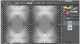 Image for 201 Op art experiment 2a: Undulating pattern