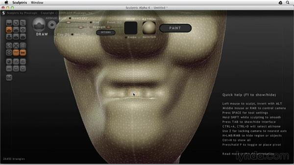 Starting from scratch: Sculptris Essential Training