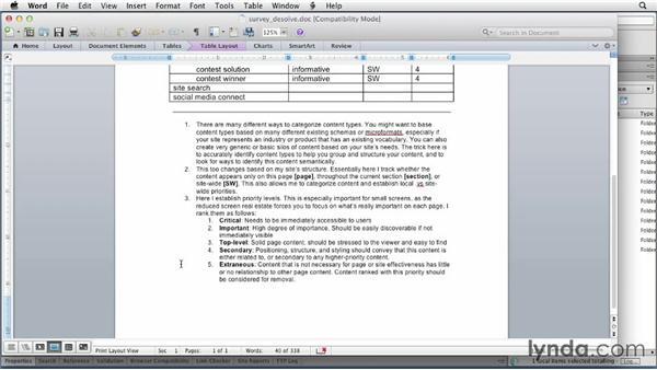 Content planning: Applied Responsive Design