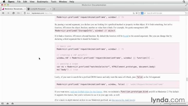Modernizr and Respond.js overview: Applied Responsive Design