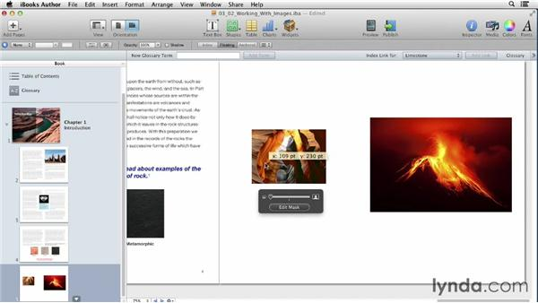 Working with image files: iBooks Author for Teachers: Fundamentals