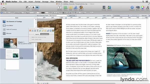 Adding Keynote presentations: iBooks Author for Teachers: Fundamentals