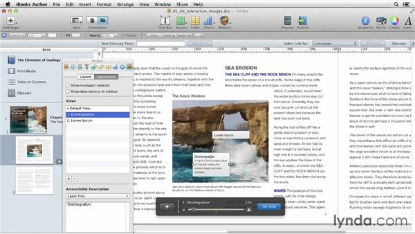 Creating interactive images: iBooks Author for Teachers: Fundamentals