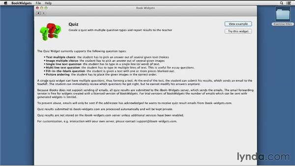 Collecting and reviewing results: iBooks Author for Teachers: Fundamentals