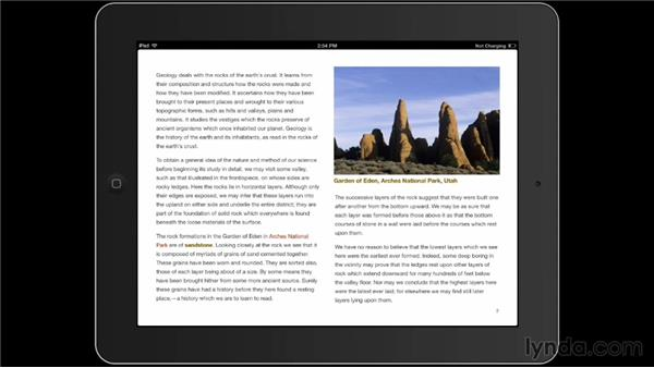 Testing projects on an iPad: iBooks Author for Teachers: Fundamentals