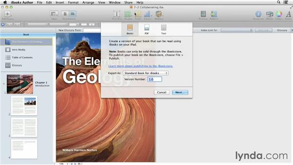 Collaborating on a project: iBooks Author for Teachers: Fundamentals