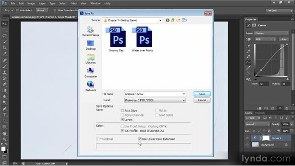 Saving the master image: Photoshop CS6 Image Optimization Workshop