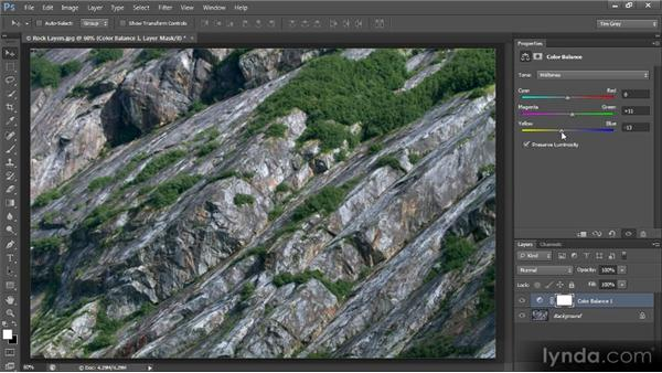 Correcting color with Color Balance: Photoshop CS6 Image Optimization Workshop