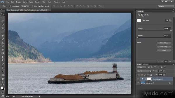 Basic targeted adjustments: Photoshop CS6 Image Optimization Workshop