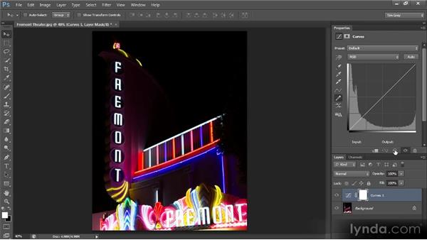 Getting creative with Curves: Photoshop CS6 Image Optimization Workshop