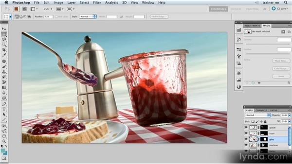 Opening the starting image: Photoshop Artist in Action: Uli Staiger's Wasp Attack