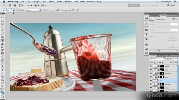 Painting a shadow: Photoshop Artist in Action: Uli Staiger's Wasp Attack