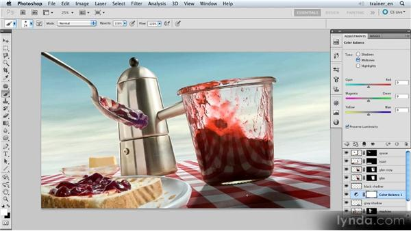 Warming up a shadow: Photoshop Artist in Action: Uli Staiger's Wasp Attack