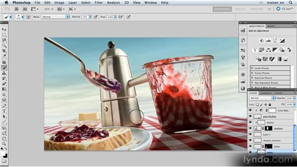 Brightening by painting with white: Photoshop Artist in Action: Uli Staiger's Wasp Attack