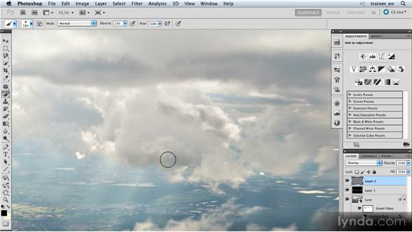 Burning the clouds: Photoshop Artist in Action: Uli Staiger's Airship