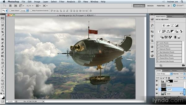 Brightening the clouds: Photoshop Artist in Action: Uli Staiger's Airship