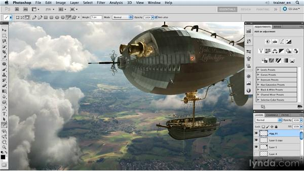 Painting in the rigging: Photoshop Artist in Action: Uli Staiger's Airship