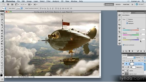 Finishing the composition: Photoshop Artist in Action: Uli Staiger's Airship