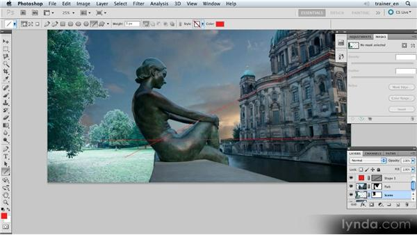 Matching horizons and refining edges: Photoshop Artist in Action: Uli Staiger's Atlantis