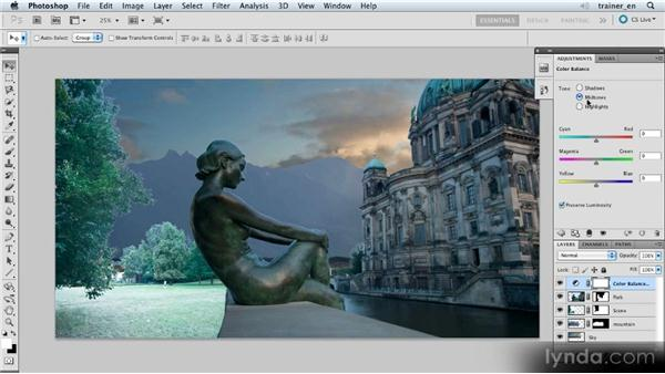Adjusting shadows and midtones: Photoshop Artist in Action: Uli Staiger's Atlantis