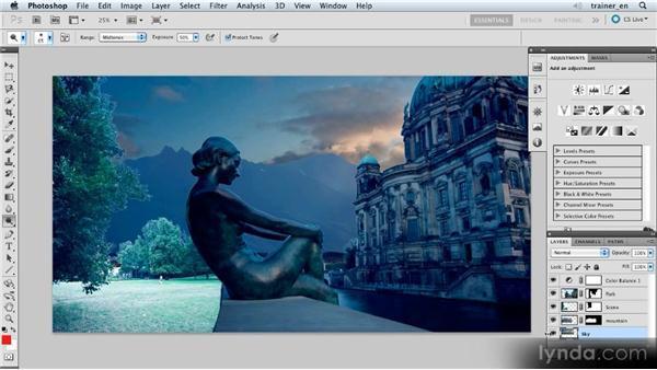 Brightening the sky: Photoshop Artist in Action: Uli Staiger's Atlantis