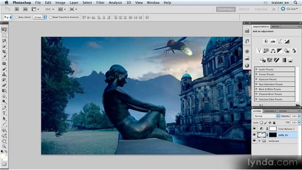 Inserting a firefly: Photoshop Artist in Action: Uli Staiger's Atlantis