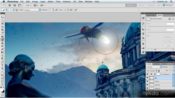 Painting points of light: Photoshop Artist in Action: Uli Staiger's Atlantis
