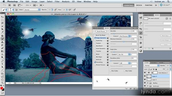 Painting in the fireflies: Photoshop Artist in Action: Uli Staiger's Atlantis
