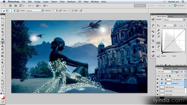 Making the final adjustments: Photoshop Artist in Action: Uli Staiger's Atlantis