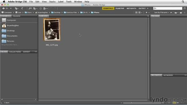 Leveraging Camera Raw during the import process: Photoshop Insider Training: Photo Restoration