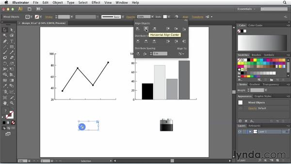 Defining a design for Illustrator charts: Creating Infographics with Illustrator