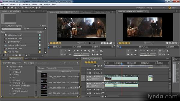 File-based cameras and the new Media Browser: Premiere Pro CS5 for Avid Editors