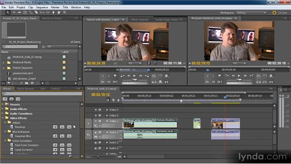 Making sequences with sequence presets and custom settings: Premiere Pro CS5 for Avid Editors