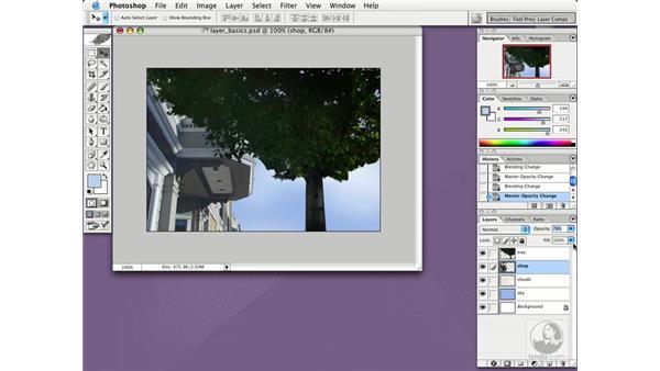 opacity: Photoshop CS Essential Training