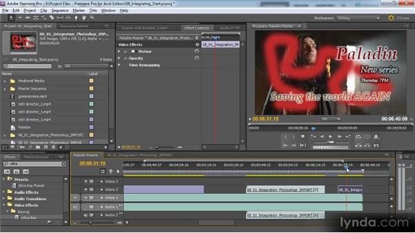 Exploring Creative Suite Production Premium: Premiere Pro CS5 for Avid Editors